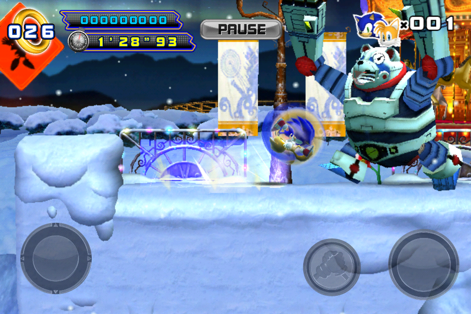 Sonic The Hedgehog 4™ Episode II iPhone, iPad Screenshot