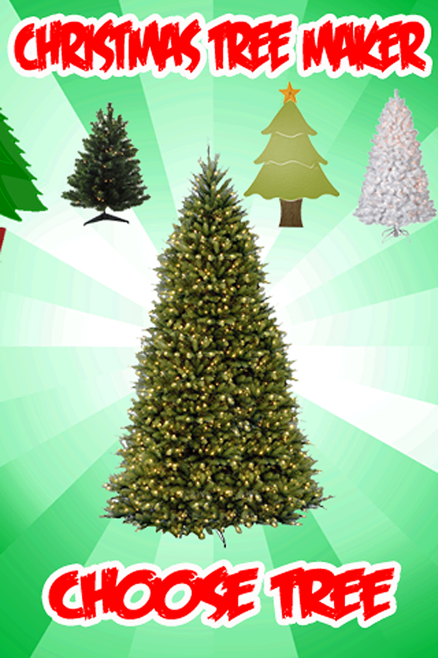Screenshot A Christmas Tree Maker!